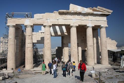 Парфенон в Афинах, Греция