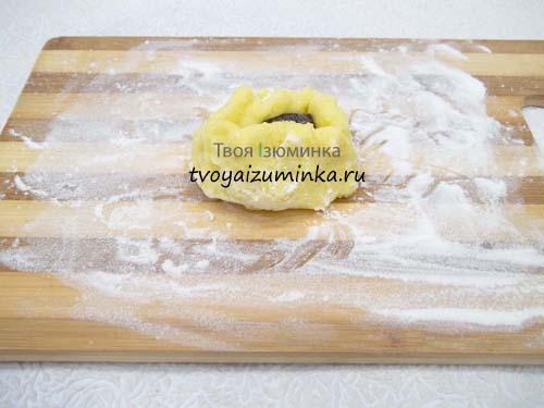Запечатаем чернослив в тесто
