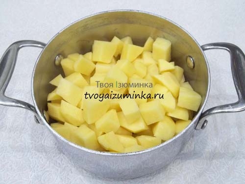 Порежем картошку