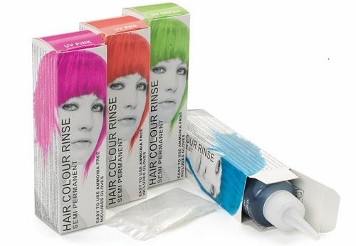 Временные краски для волос