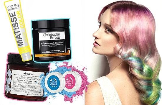 Средства для временной окраски волос
