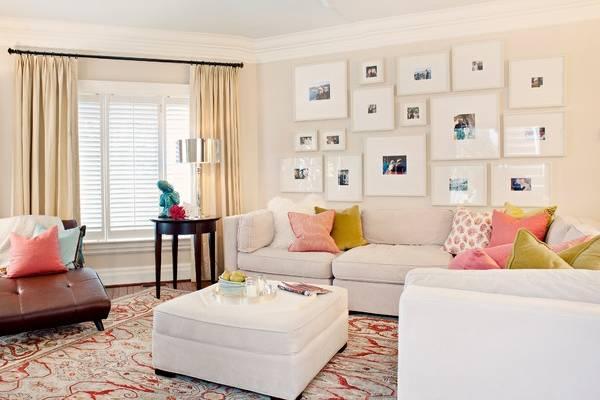 5 интересных идей оформления комнаты фотографиями