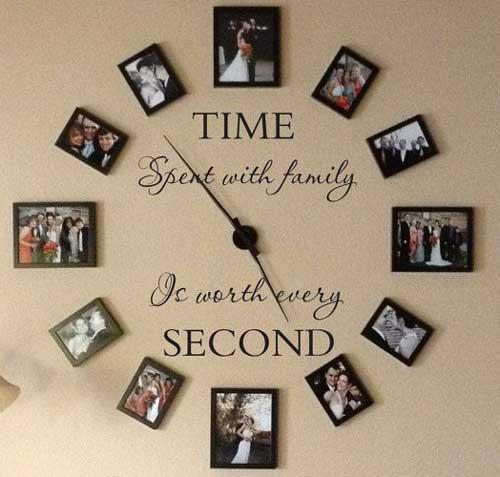 Фотографии - часы на стене
